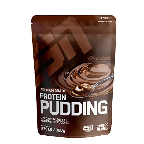 ESN Protein Pudding, 360g Chocolate